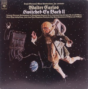 Walter Carlos Wendy Carlos Bach electonico Switched on